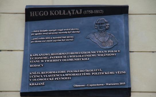 Před dvěma staletími zde byl vězněn. Teď si Olomouc velkého Poláka připomíná